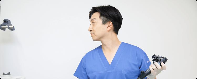 苦痛が少なく楽に受けられる内視鏡検査